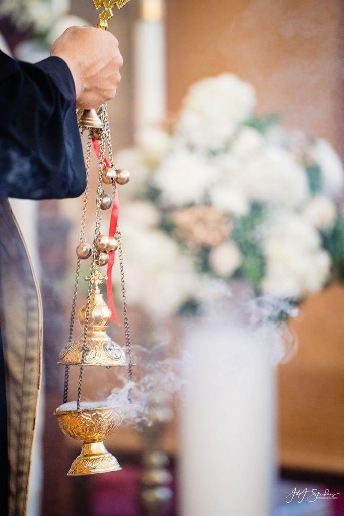 coptic church wedding incense