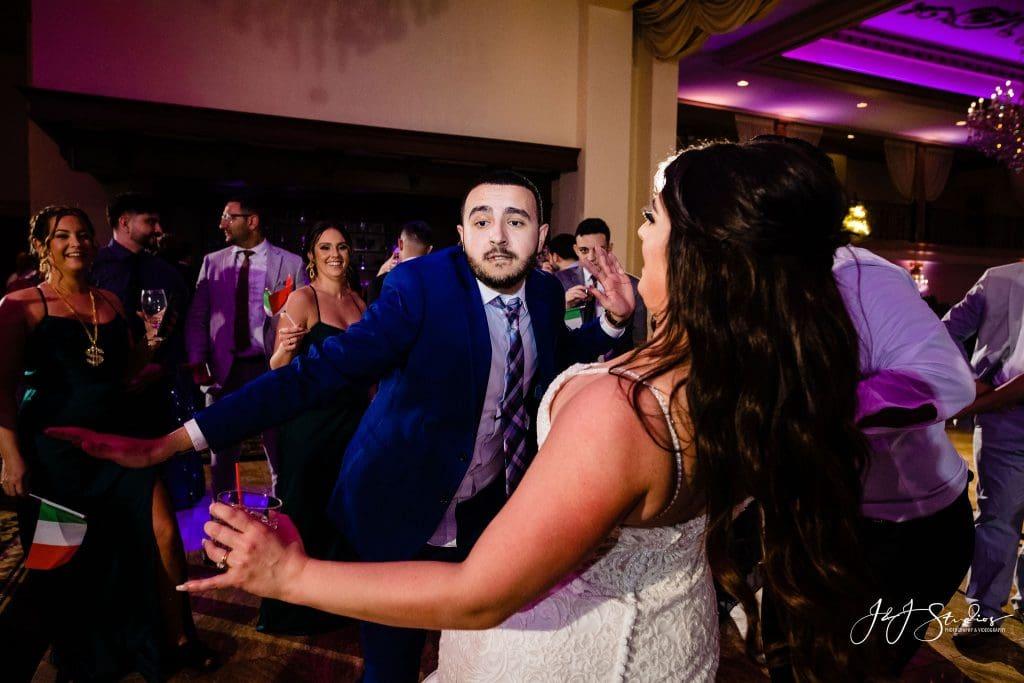 wedding dancing bride