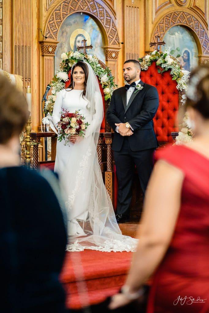 coptic church wedding chairs