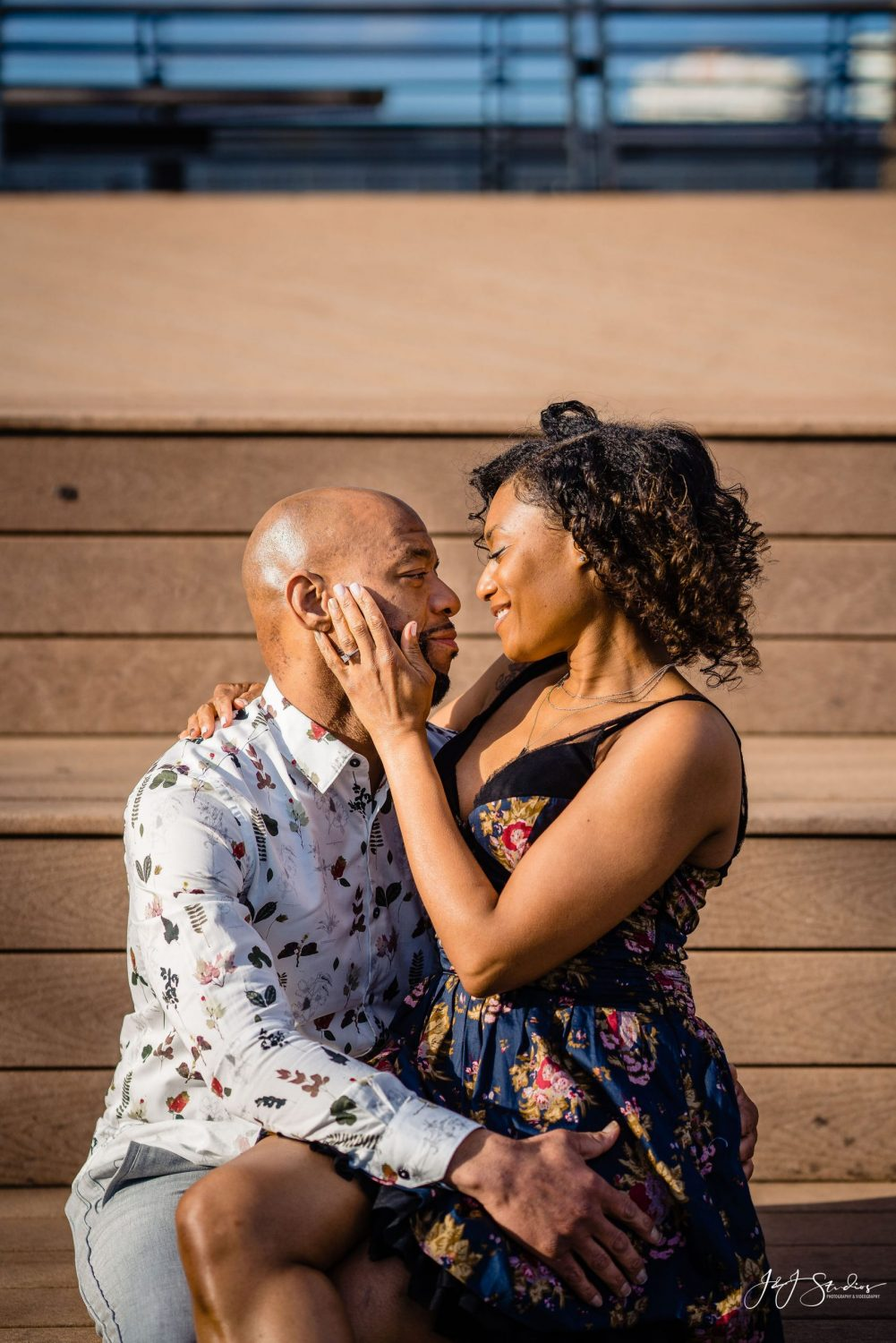 Downtown Philly Engagement Session