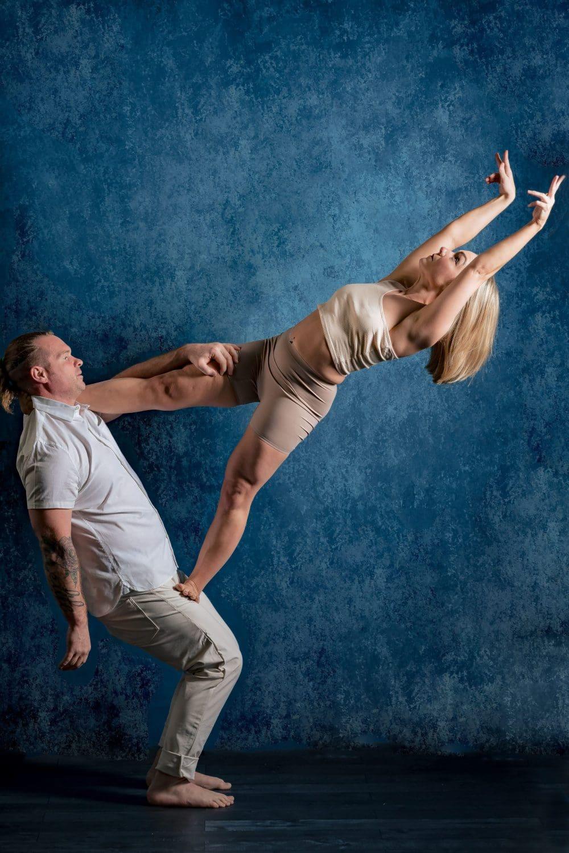 Yoga photo shoot