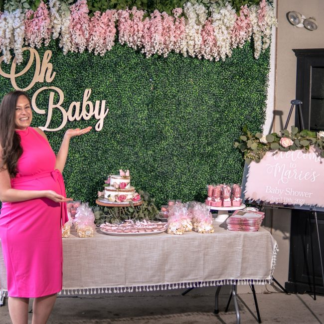 cherry hill baby shower photography