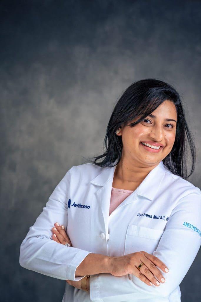 female doctor professional headshot