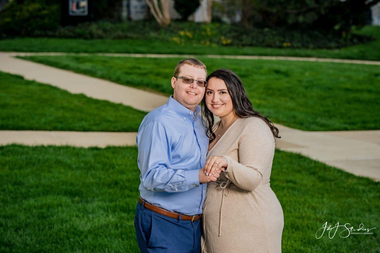 Engagement photo shoot by J&J Studios