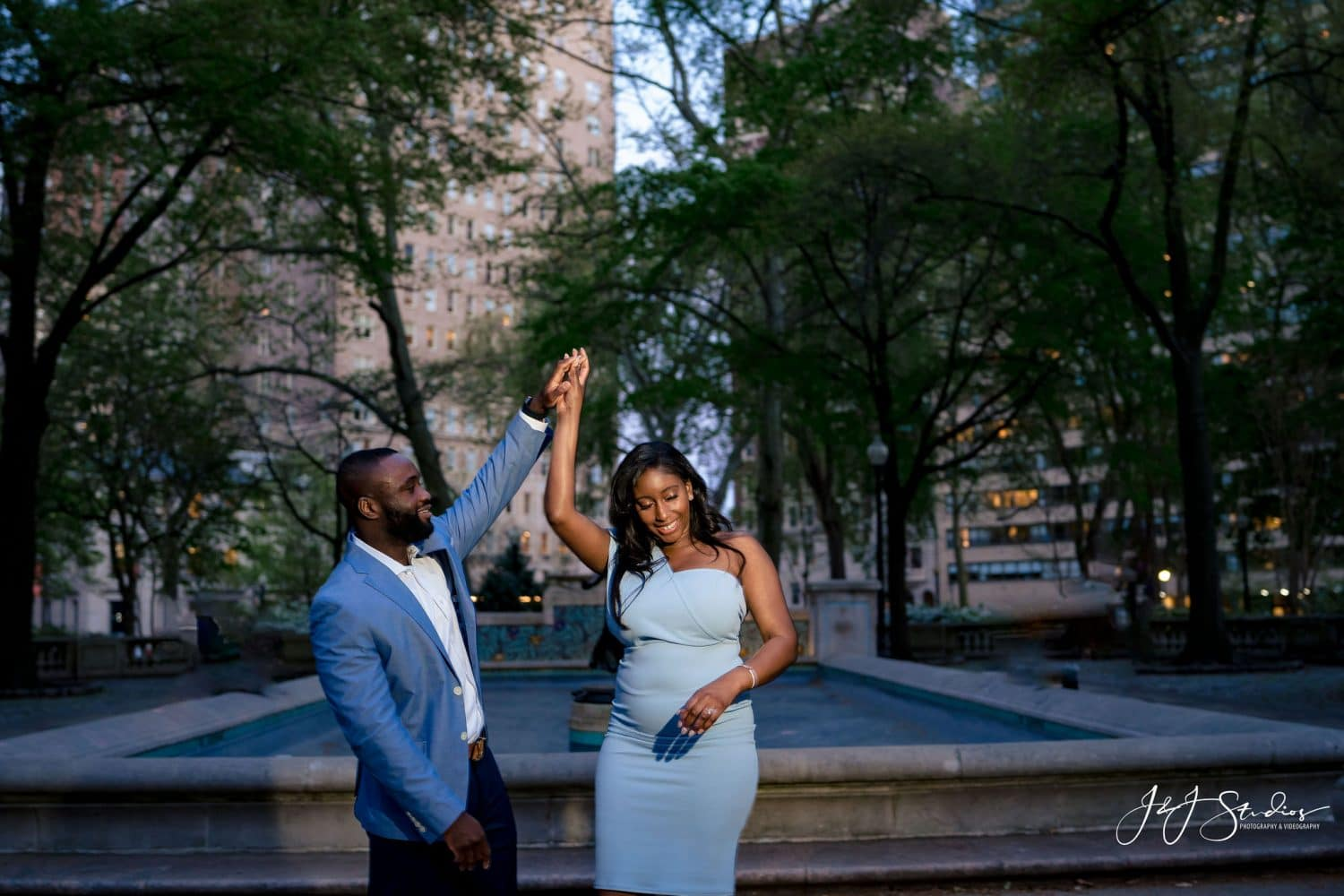 Philly proposal photography and videography by J&J Studios
