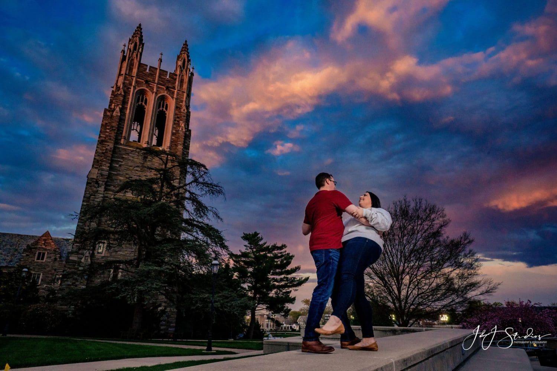 Couple at Saint Joseph's University
