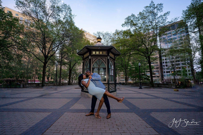Dancing in Rittenhouse Square