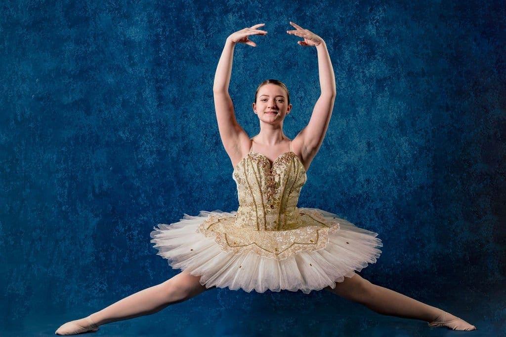 Dancer at Juli Kell's Dance Center captured by J&J Studios