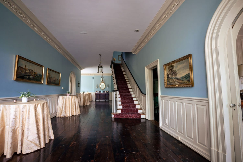 Foyer entrance beautiful wooden floors