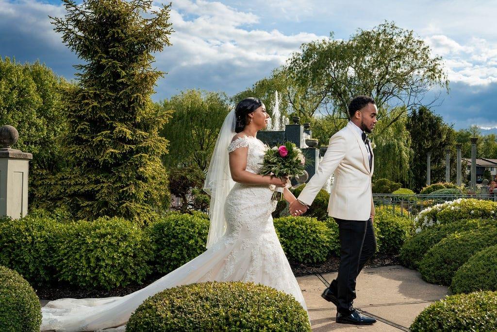 Beautiful wedding photo shoot by J&J Studios
