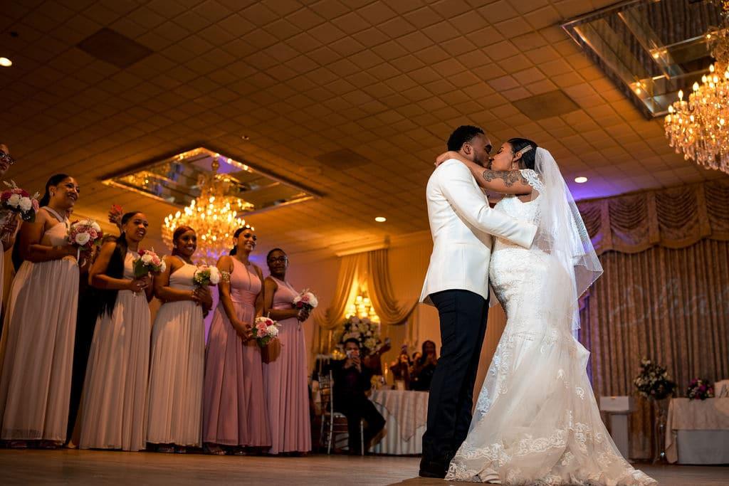 Couple dancing by J&J Studios