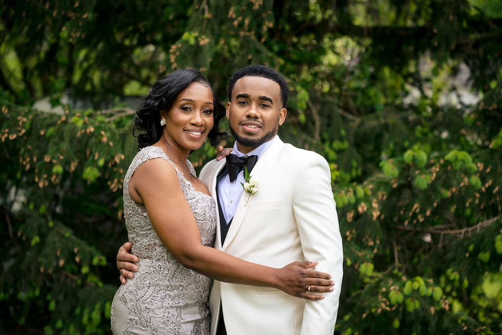Mother and son by J&J Studios