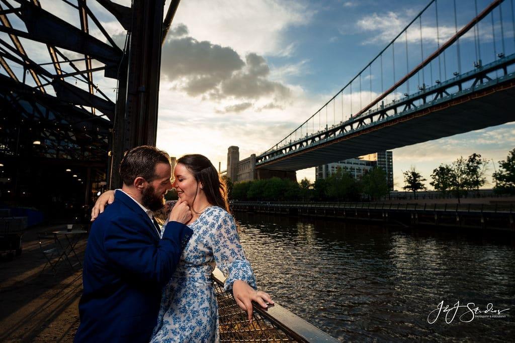 Engagement photos by J&J Studios