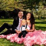 park family spring maternity shoot