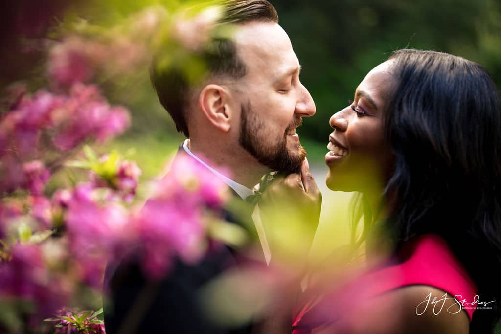 Lovely couple photographed by J&J Studios