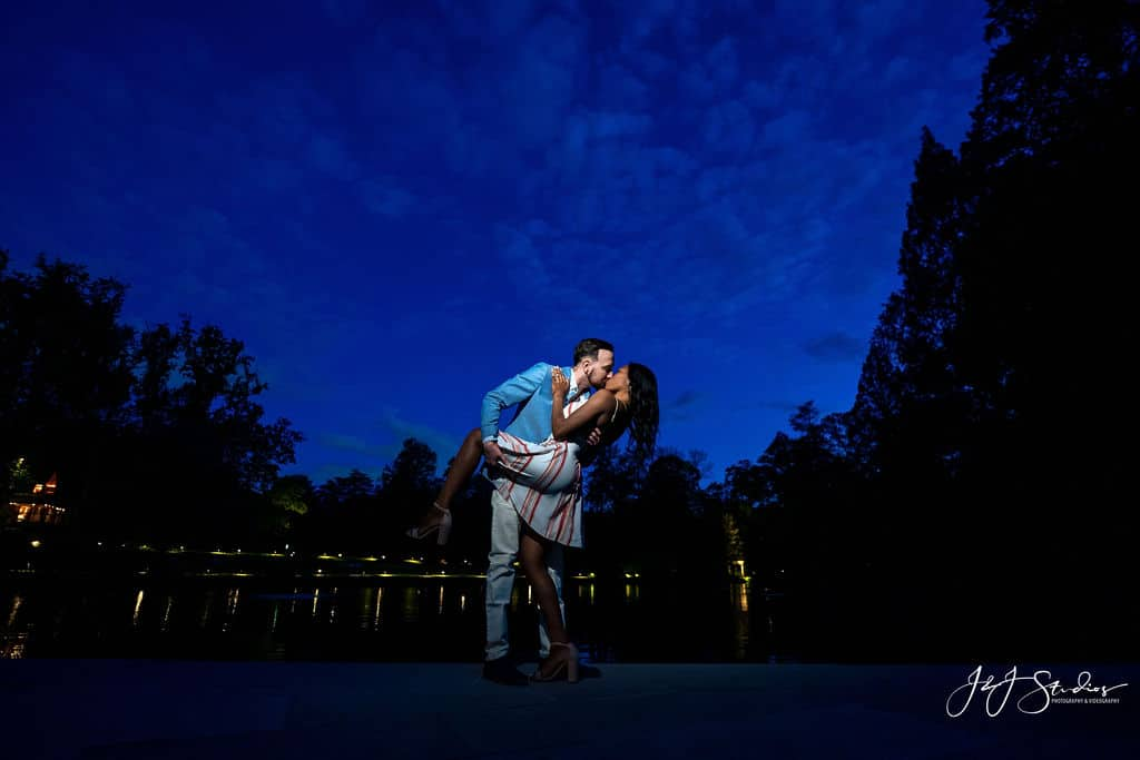 Longwood Gardens at night by J&J Studios