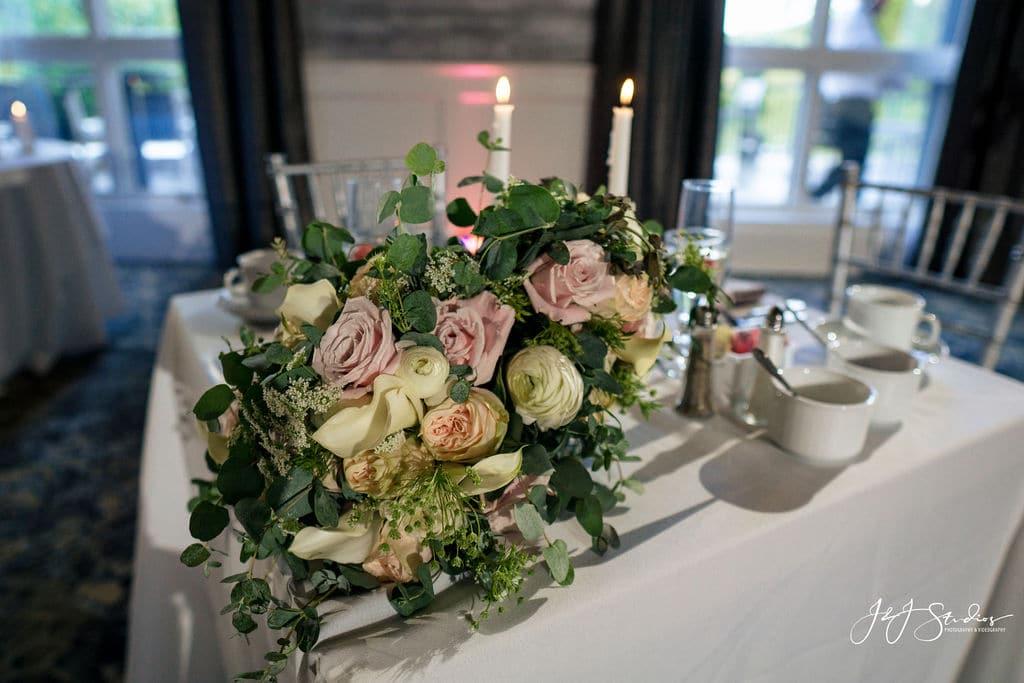 Wedding decorations by J&J Studios