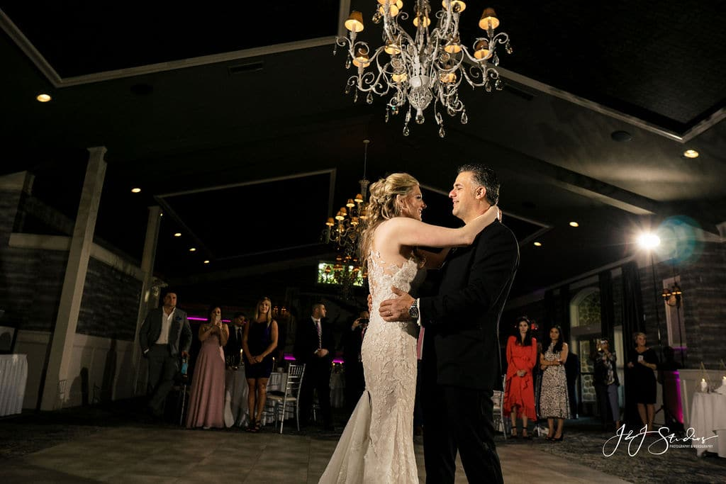 Groom and brides first dance by J&J Studios