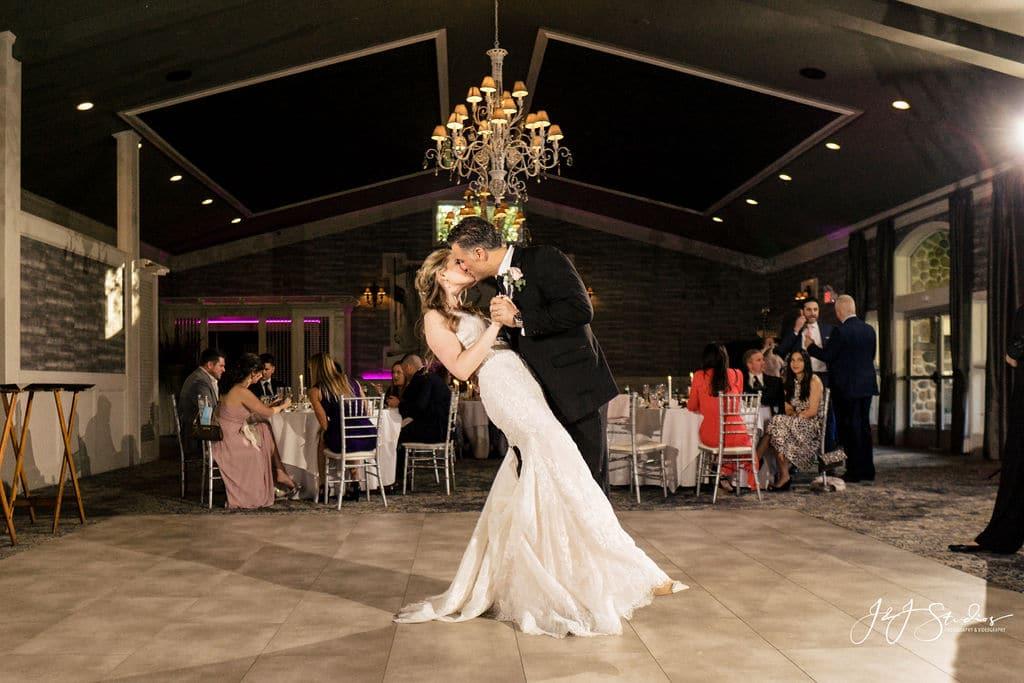 Joe and Cherise's first dance