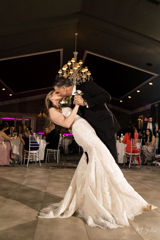 Cherise and Joe's first dance