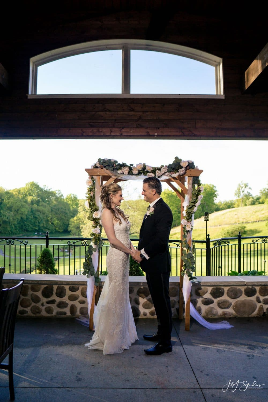 Paxon Hollow Golf Club wedding by J&J Studios