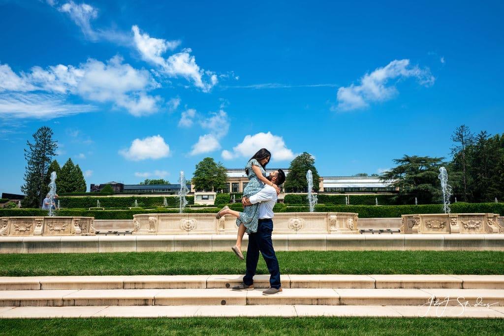 romantic longwood gardens proposal