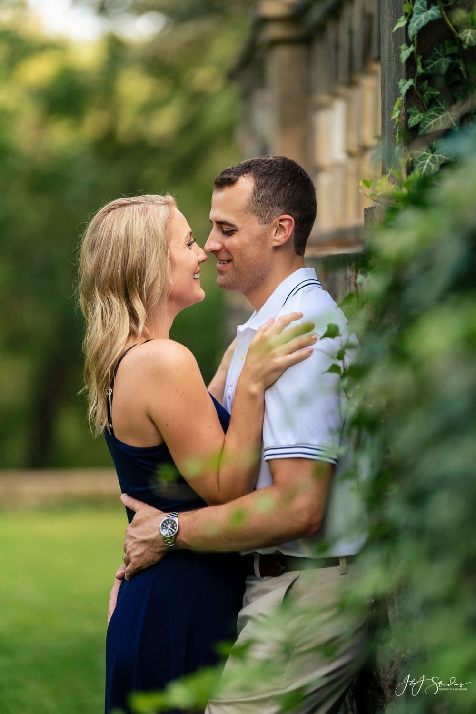 Hunting Hill Mansion Engagement Shot By John Ryan