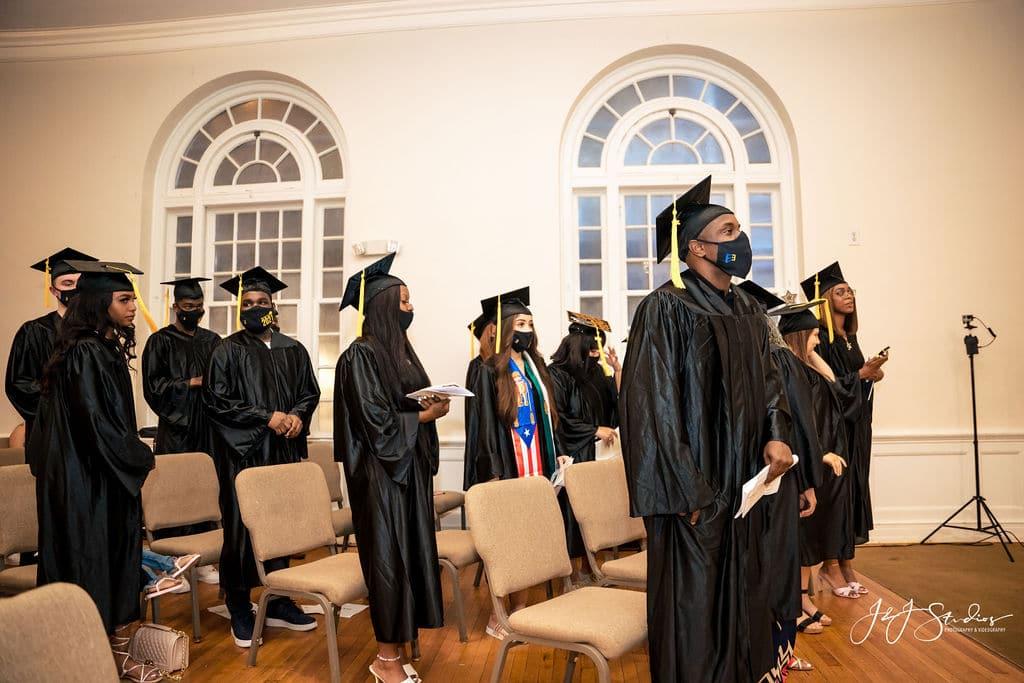 JEVS graduating class by J&J Studios