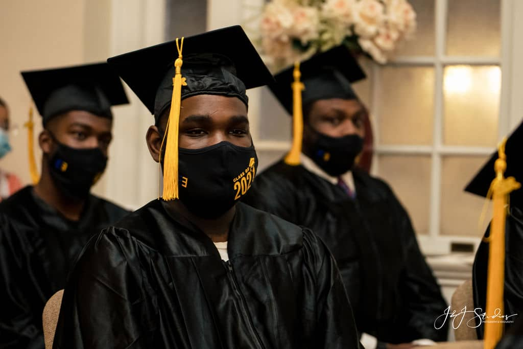 Local organization graduation by J&J Studios