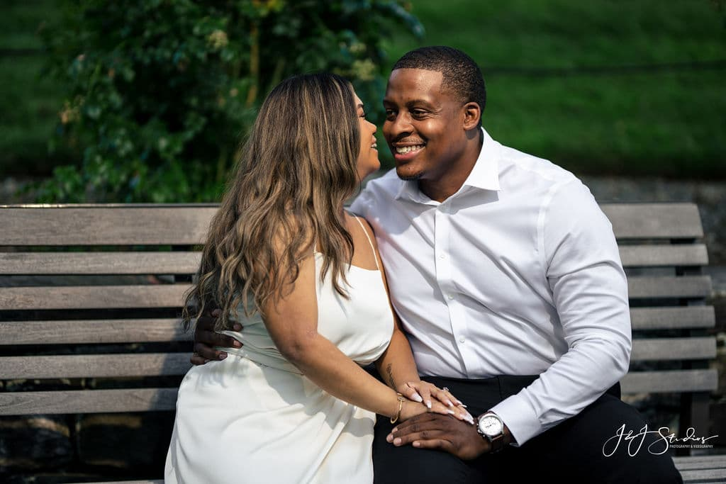 Xavier and Abby engagement session by J&J Studios