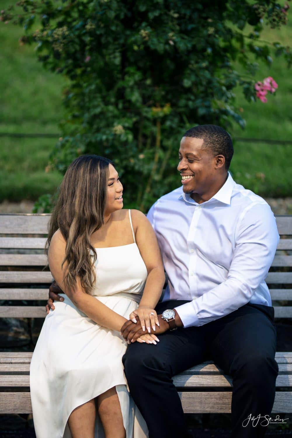 Abby and Xavier engagement by J&J Studios