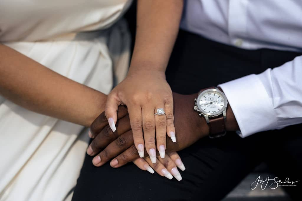 Engagement ring by J&J Studios