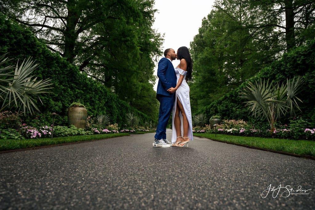 Couple engagement photo shoot by J&J Studios