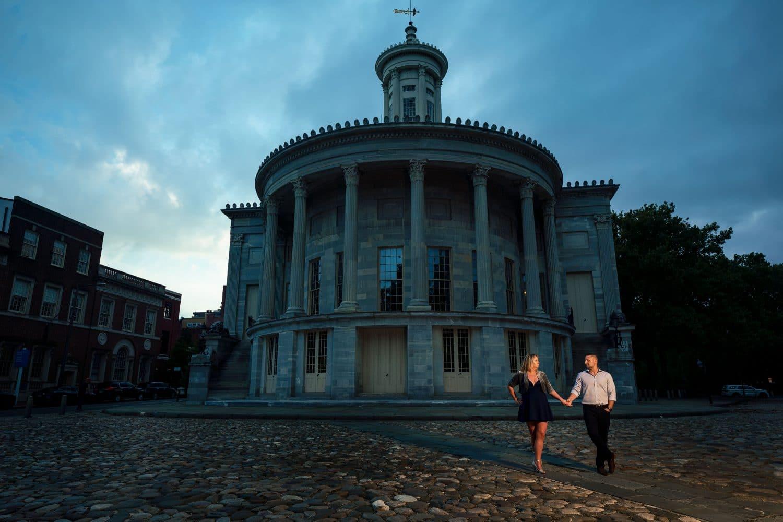 Dramatic shot during Philadelphia Engagement Shot By John Ryan