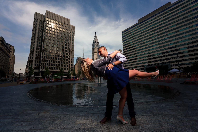 Epic Couple Philly Photoshoot
