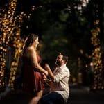 Addison street proposal Rittenhouse Square and Addison Street Engagement Shot By John Ryan
