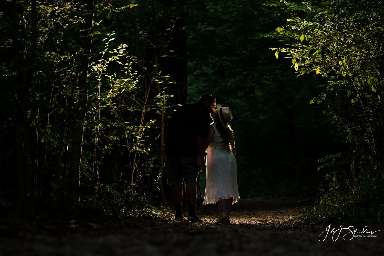 Sunset walkaway in Philly Trails Shot By John Ryan