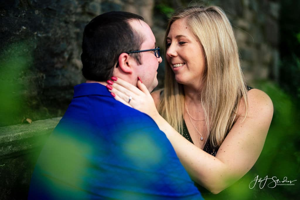 Hunting Hill Mansion Engagement by J&J Studios