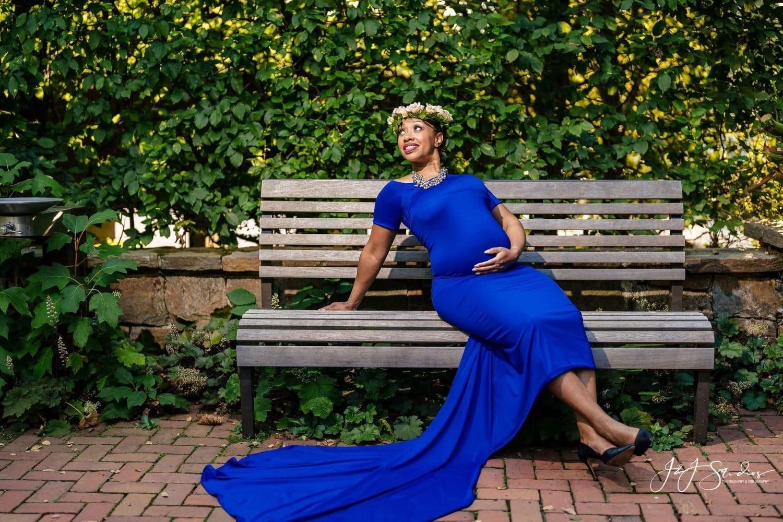 Longwood Gardens Maternity Shot By John Ryan