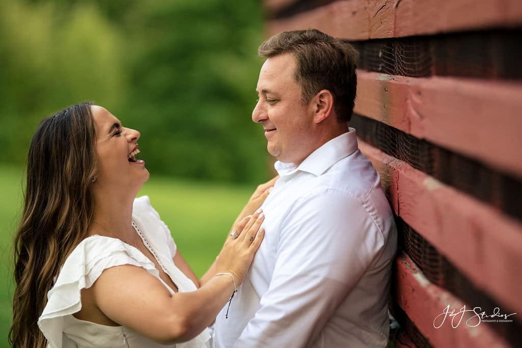 Engagement photography by J&J Studios