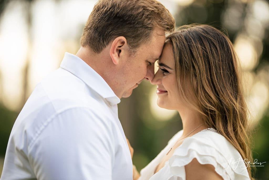 Engagement photo by J&J Studios