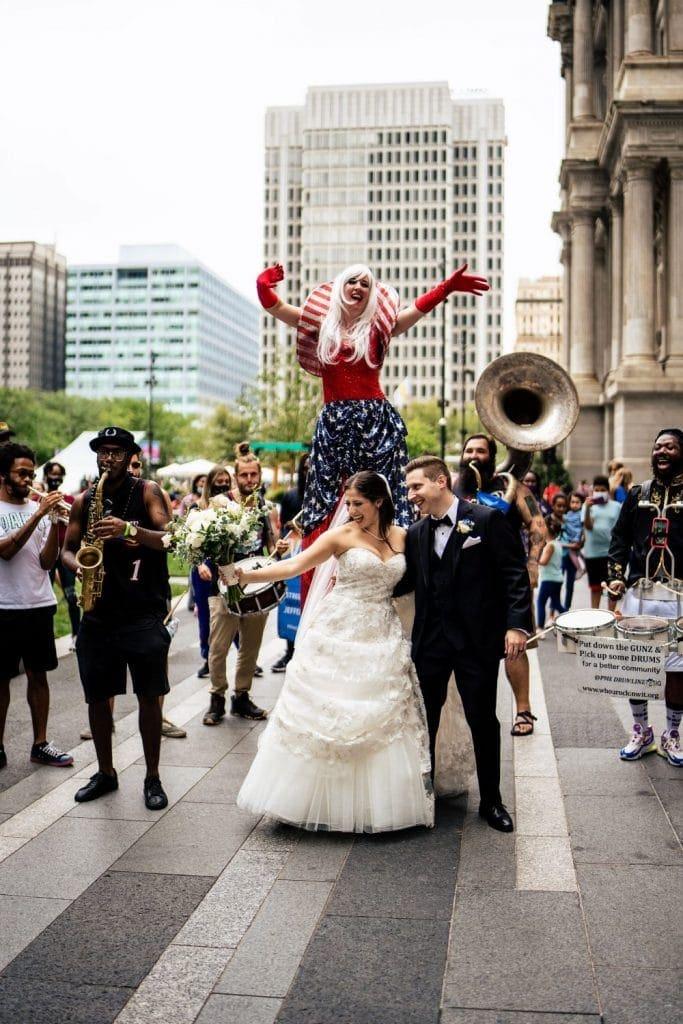 philadelphia pa dilworth park wedding photo