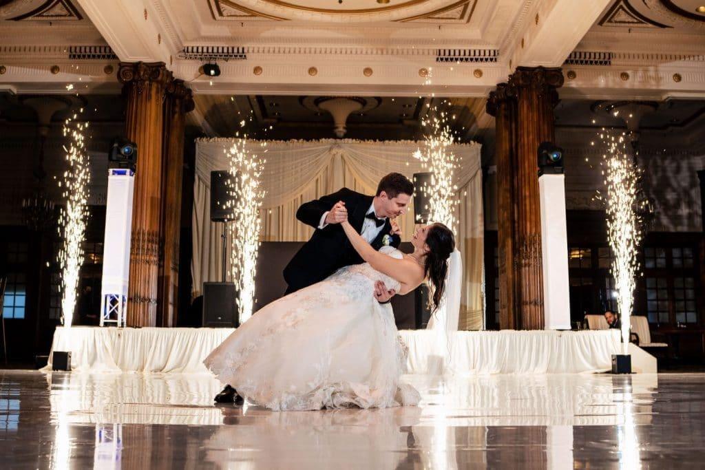 first dance crystal tea room wedding pa