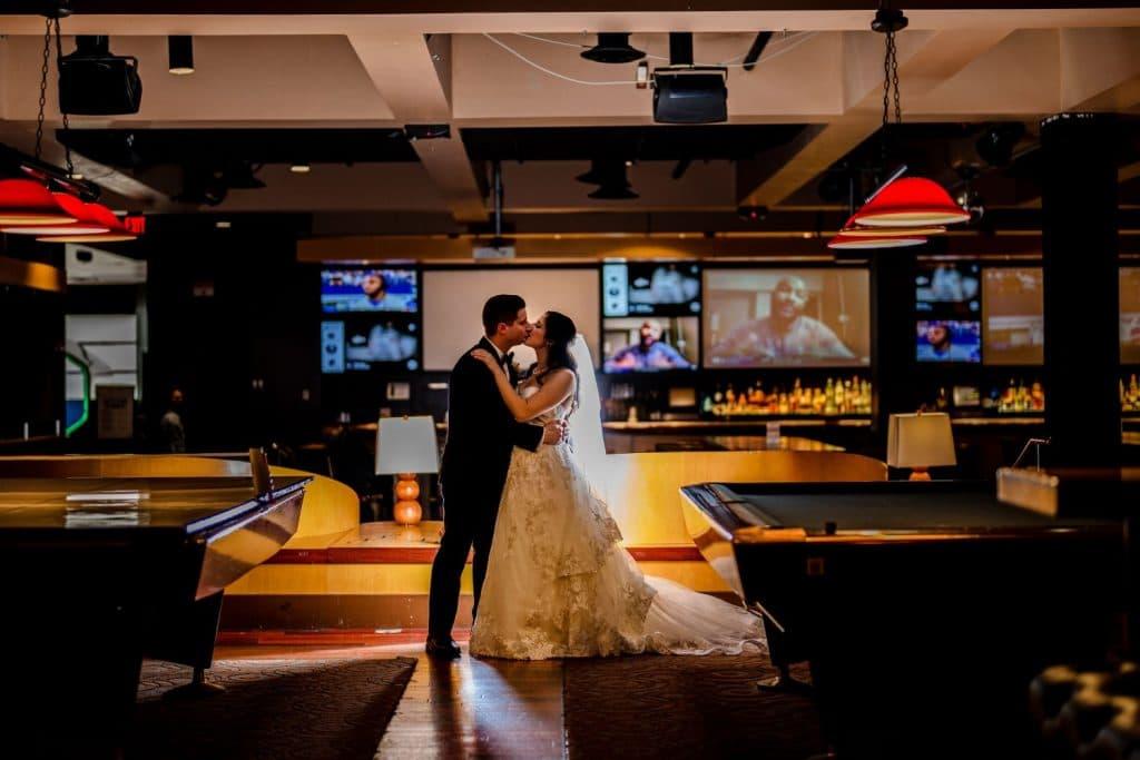 lucky strike philadelphia pa wedding day photo
