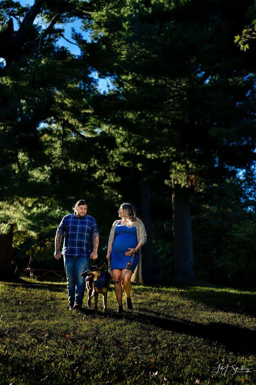 Beautiful couple maternity shot by John Ryan