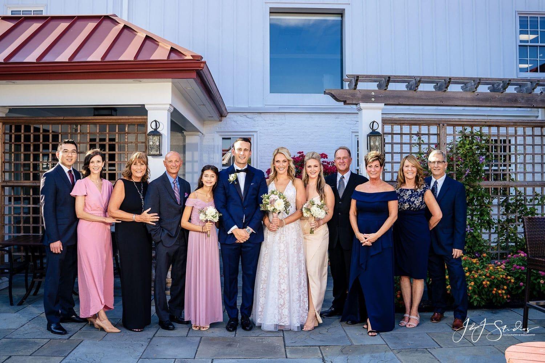 wedding party Shot By John Ryan